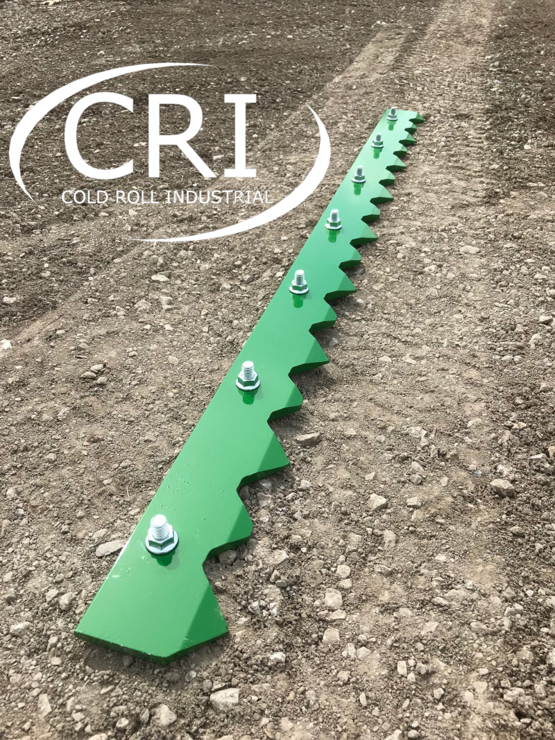 Cri Bolt On Serrated Tooth Bars Cold Roll Industrial
